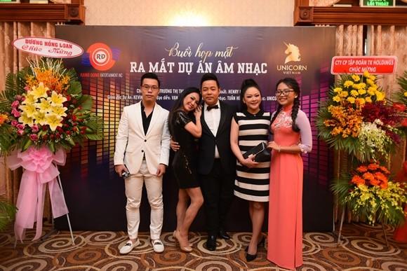 Như Quỳnh - Quang Lê - Phương Mỹ Chi trong buổi chia sẻ những dự án của mình tại Việt Nam cho đến cuối năm 2018