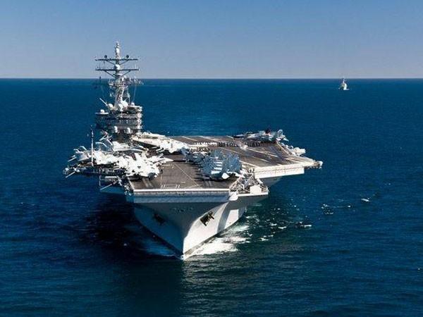 Mỹ đưa tàu sân bay hiện đại nhất tới châu Á ảnh 1