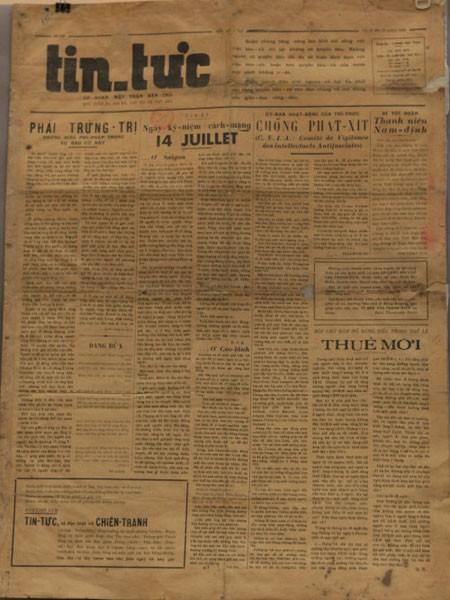 Đọc lại báo chí Việt Nam những ngày đầu ảnh 1
