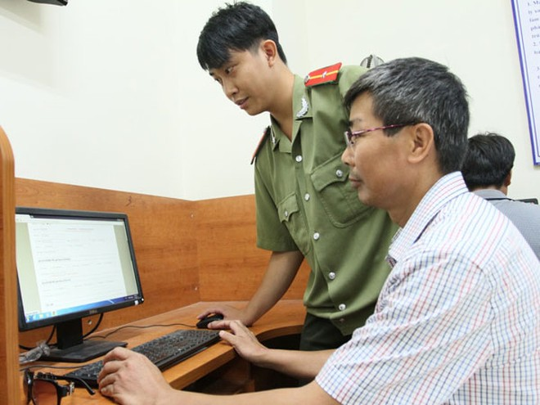 """CATP Hà Nội ứng dụng công nghệ thông tin phục vụ nhân dân: Đạt """"3 giảm"""", mở rộng đối tượng phục vụ ảnh 1"""