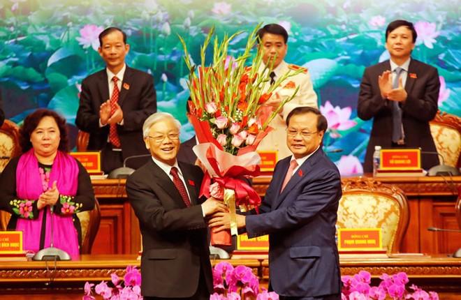 Đại hội lần thứ XVI Đảng bộ thành phố Hà Nội: Đưa Thủ đô lên tầm cao mới ảnh 2