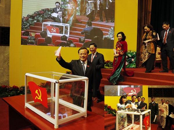 Đại hội lần thứ XVI Đảng bộ thành phố Hà Nội: Đưa Thủ đô lên tầm cao mới ảnh 1