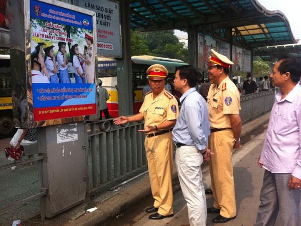 Tuyên truyền Luật Giao thông cho lái xe khách liên tỉnh ảnh 1