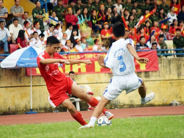 Ngày mai, khai mạc Giải bóng đá học sinh THPT Hà Nội- Báo ANTĐ lần thứ XV - 2015 ảnh 2