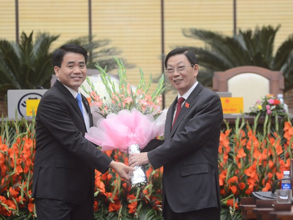 Tín nhiệm cao đối với đồng chí Nguyễn Đức Chung ảnh 1