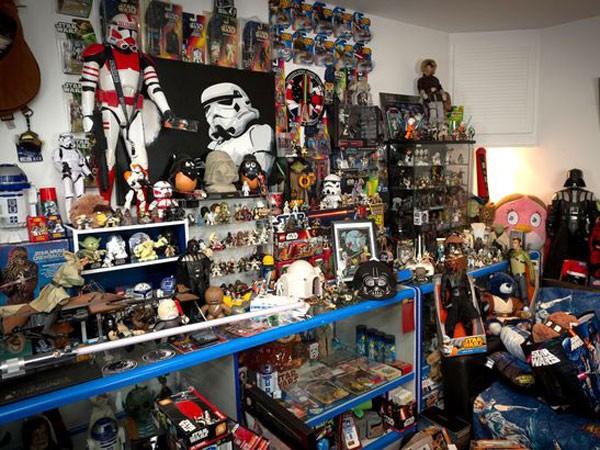 Sưu tập 20.000 vật dụng liên quan tới Star Wars ảnh 1