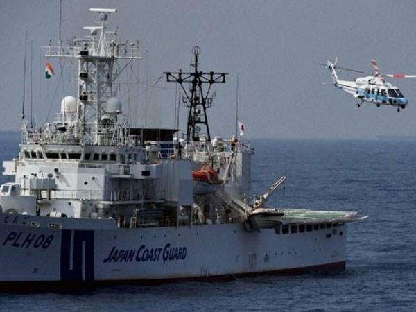 Lực lượng bảo vệ bờ biển Nhật Bản - Ấn Độ diễn tập chung ảnh 1