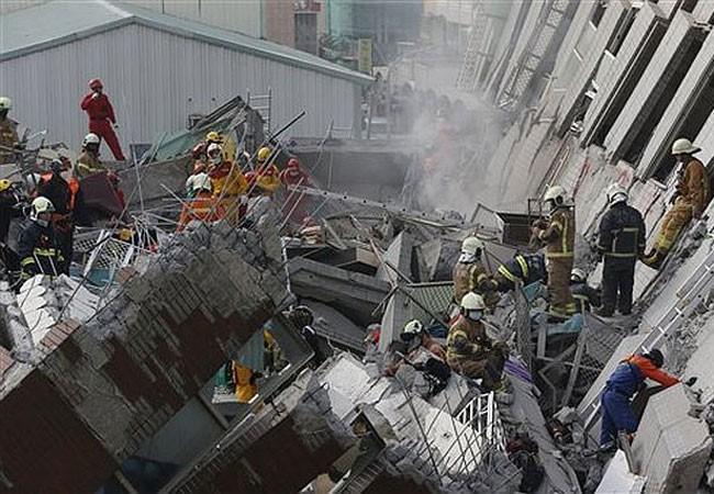 Kết thúc tìm kiếm nạn nhân trong vụ động đất ở Đài Loan ảnh 1