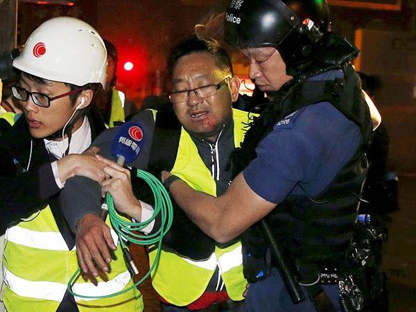 Trung Quốc lên án các vụ đụng độ tại Hồng Kông ảnh 1
