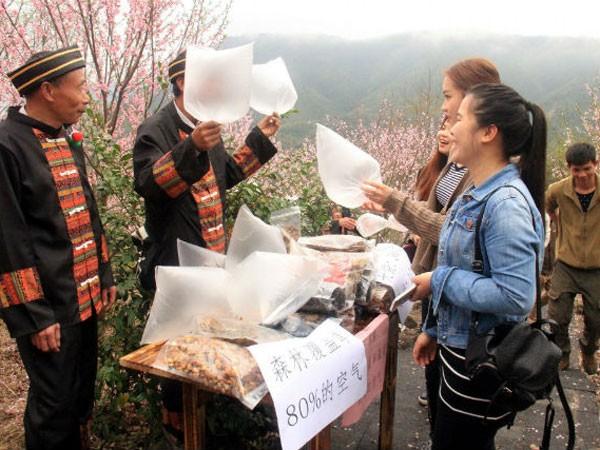 Bán túi khí sạch cho du khách thành thị ảnh 1