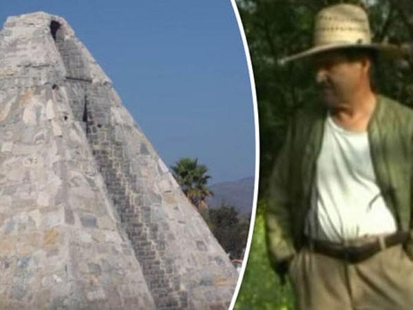 Xây kim tự tháp theo... người ngoài hành tinh ảnh 1