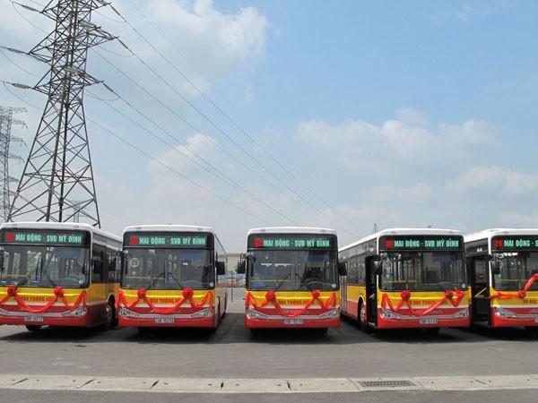 Tuyến buýt số 26 được thay thế toàn bộ xe mới