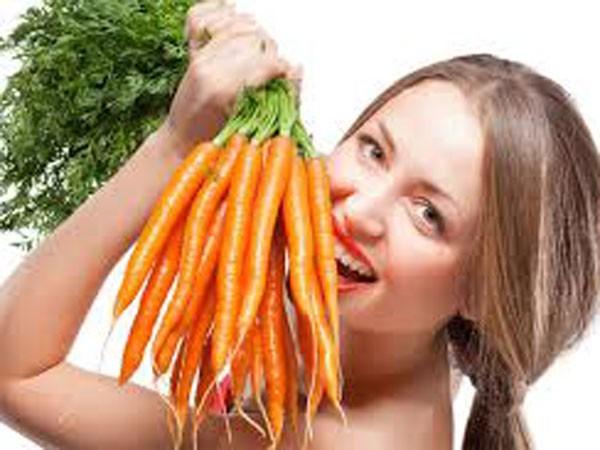 Cà rốt, bí ngô giúp trị mụn