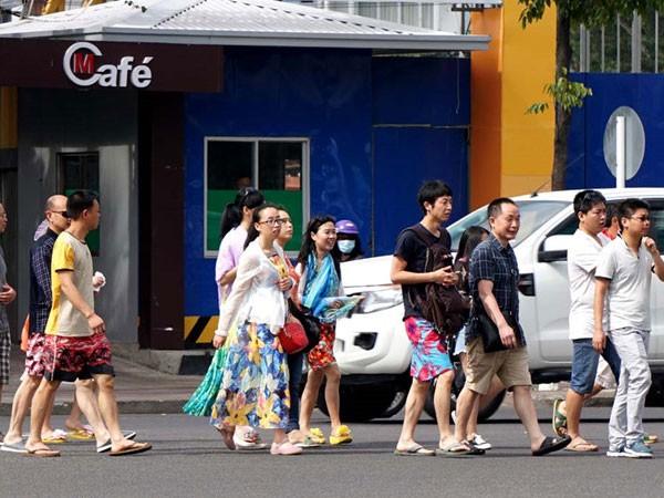 Lượng khách Trung Quốc vào Nha Trang tiếp tục tăng