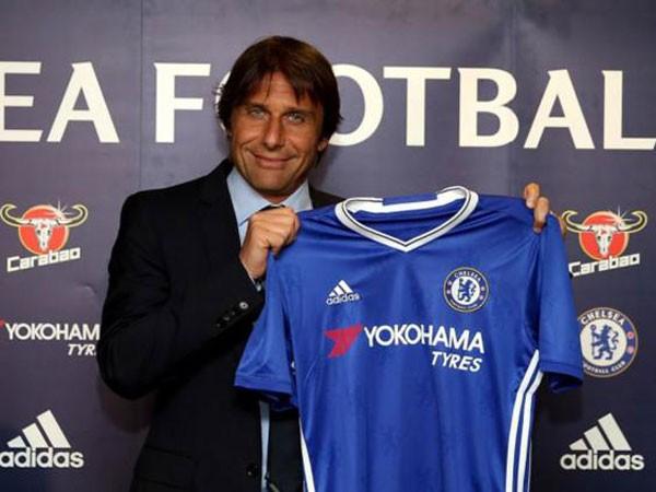 Conte đặt mục tiêu lên đỉnh cao bóng đá Anh ngay mùa đầu tiên ở Chelsea