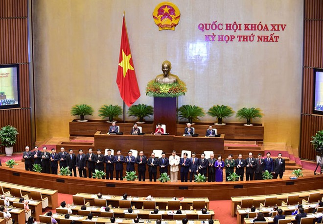 Chính phủ nhiệm kỳ 2016-2021 ra mắt Quốc hội và cử tri cả nước