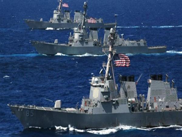 Mỹ khẳng định sẽ tiếp tục tuần tra trên Biển Đông nhằm đảm bảo tự do và an ninh hàng hải