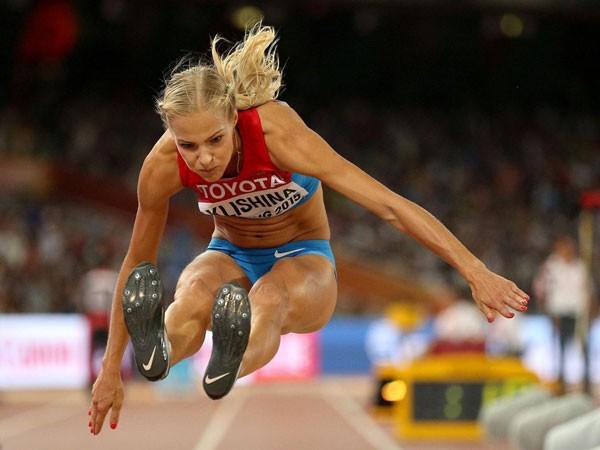 Darya Klishina là nữ VĐV điền kinh duy nhất của Nga được phê chuẩn dự Rio 2016