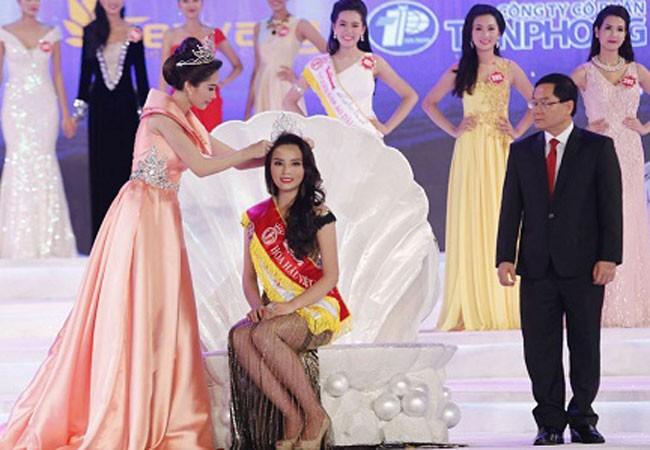 Ai thay Kỳ Duyên trao vương miện cho tân Hoa hậu?