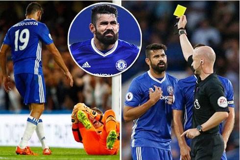 Costa trở thành tâm điểm chỉ trích vì những thói hư, tật xấu trên sân