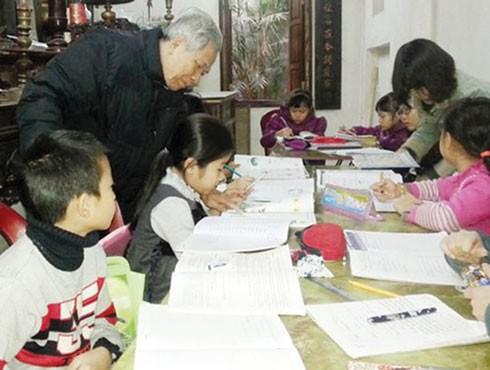 Phóng viên Báo ANTĐ từng được tham gia lớp học đặc biệt của ông giáo Nguyễn Trà