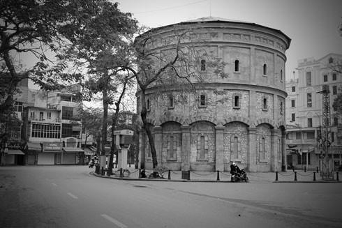Tháp nước Hàng Đậu được xây dựng năm 1894 - Ảnh: Internet