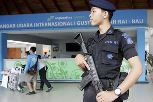 Cảnh sát Bali được triển khai ở tất cả các cửa ngõ của hòn đảo này
