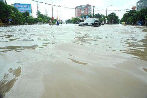 Bắc bộ mưa lớn, nhiều nơi ngập lụt