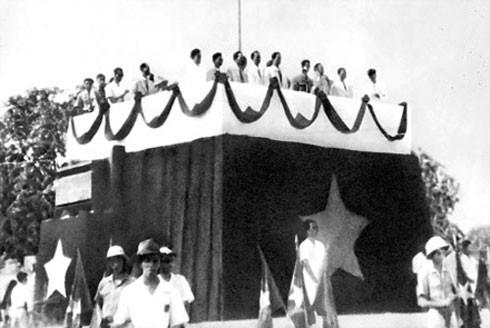 Lễ đài Độc lập ngày 2-9-1945