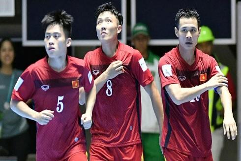 Futsal Việt Nam tự tin hướng tới trận đấu thành công tiếp theo ở World Cup