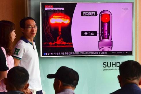 Người dân Hàn Quốc không khỏi lo lắng trước khả năng Triều Tiên sở hữu vũ khí hạt nhân sau vụ thử hạt nhân