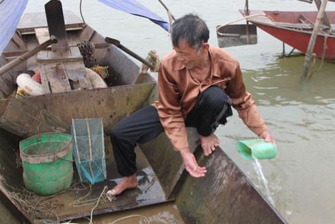 Ông Nụ từng bắt được cá Anh Vũ ở ngã ba Bạch Hạc nhưng lại thả ra