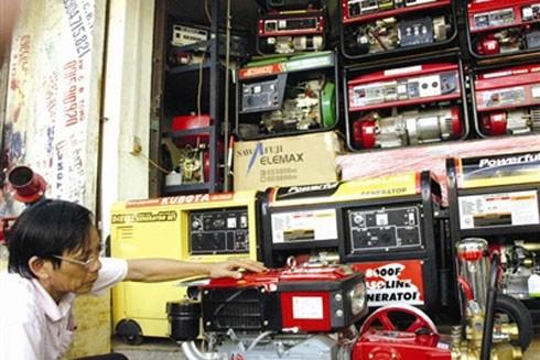 Người dân cần thận trọng khi mua và sử dụng máy phát điện