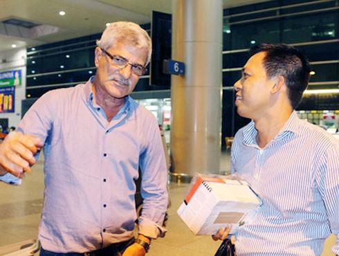 HLV Calisto khẳng định trở lại Việt Nam chỉ để du lịch, gặp gỡ bạn bè