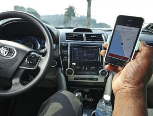 Ngày càng có nhiều người sử dụng taxi Uber