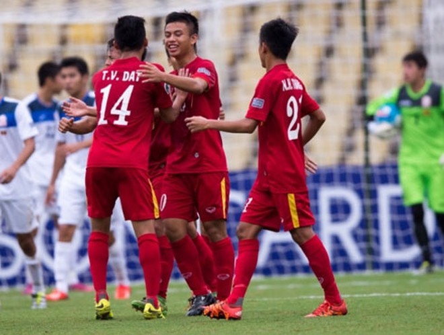 U16 Việt Nam thi đấu bùng nổ sau khi bị dẫn trước
