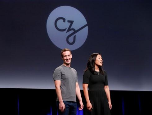 Vợ chồng ông chủ mạng xã hội Facebook Mark Zuckerberg