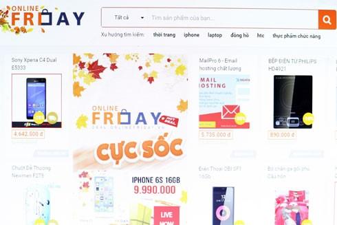 68.200 sản phẩm khuyến mãi trong Online Friday