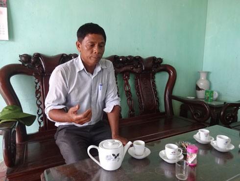 Ông Nguyễn Trọng Long - Chủ nhiệm HTX Hoàng Long