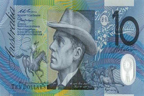 Tờ tiền mệnh giá 10 dollar mới của Australia