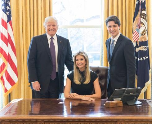Tranh luận về vai trò của Ivanka Trump