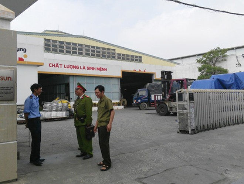 Lực lượng cảnh sát khu vực quận Bắc Từ Liêm luôn gần gũi với chính quyền cơ sở đê nắm tình hình