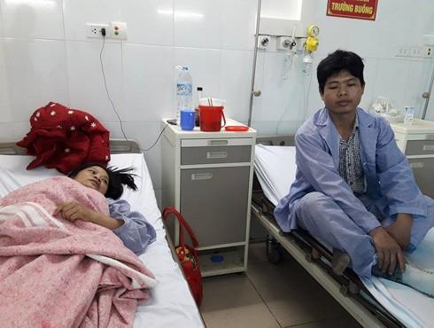 Vợ chồng anh Nguyễn Minh Hoan thuật lại vụ nổ