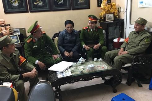 CAP Điện Biên, quận Ba Đình gần gũi cán bộ cơ sở, nắm bắt tình hình người sử dụng ma túy tổng hợp