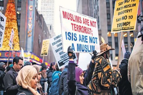 Người dân Mỹ tuần hành biểu thị sự ủng hộ đối với người nhập cư
