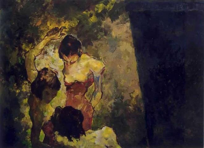 Gam màu trầm xuất hiện xuyên suốt trong các tác phẩm của Doãn Hoàng Lâm