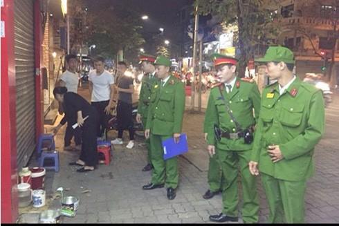 Trắng đêm tuần tra, xử lý vi phạm và phòng chống tội phạm của lực lượng CSGT-TT-CĐ và lực lượng liên quân (CAQ Hai Bà Trưng)