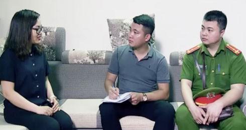 Lực lượng CAQ Nam Từ Liêm thường xuyên tuyên truyền người dân tự phòng, tự quản
