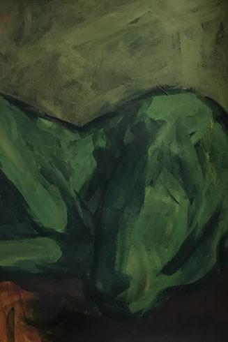"""""""Nude 2"""" của họa sĩ Nguyễn Trung Hiếu"""