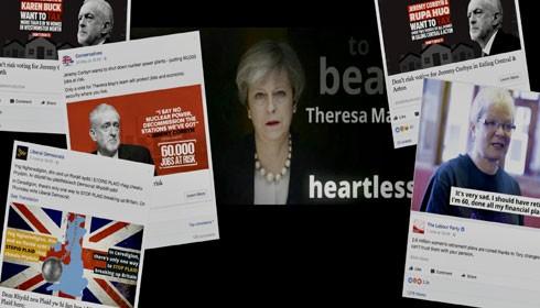 Một trang facebook và những thông tin liên quan đến cuộc trưng cầu dân ý về việc rời EU của Anh